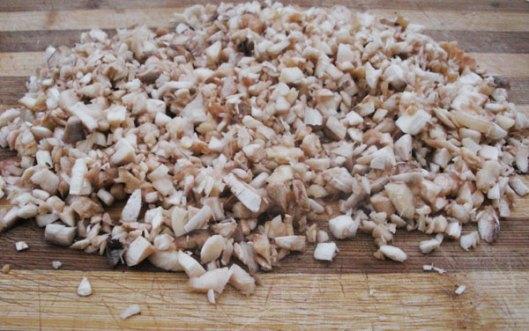champiñones rellenos gratinados al horno 2
