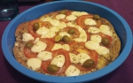 Tortilla pizza al horno